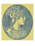 Athene  Illustration from &#39;History of Greece&#39; by Victor Duruy  Published 1890