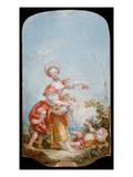 The Grape Gatherer  1748-52