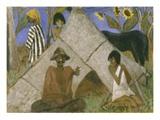 Gypsy Encampment  c1925