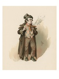 The Artful Dodger  Illustration from 'Character Sketches from Charles Dickens'  C1890