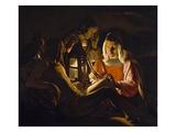 St Sebastian Tended by Irene  c1638-39