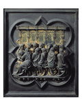 The Last Supper  Twelfth Panel of the North Doors of the Baptistery of San Giovanni  1203-24
