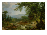 Monument Mountain  Berkshires  1855-60 (Oil on Canvas)