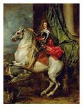 Equestrian Portrait of Thomas Francis of Carignan  Duke of Savoy  1634