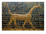 Dragon of Marduk  on the Ishtar Gate  Neo-Babylonian  604-562 BC