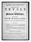 Title-Page of a Witch Hunt Pamphlet by Cotton Mather Published in 1693 (Print)