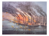Armoured Gunboats Commanded by US Flag Officer Andrew Foote  6th February 1862