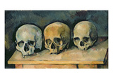 The Three Skulls  C1900 (Oil on Canvas)