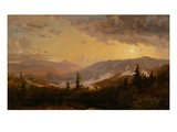 Sunset after a Storm in the Catskill Mountains  c1860