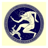 Boy and Hare  Illustration from 'Greek Vase Paintings' by J E Harrison and D S Maccoll