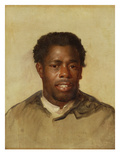Head of a Negro  C1777-78 (Oil on Canvas)
