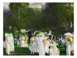 A Day in June  1913 (Oil on Canvas)