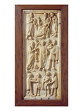 Plaque Depicting Scenes from the Life of St Paul  C1400 (Ivory)