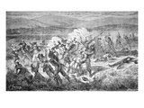 The Mountain Meadows Massacre of 1857 (Engraving)