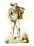 Hercules  Illustration from 'History of Rome' by Victor Duruy  Published 1884