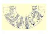 The Judgement of Paris  Illustration from 'Greek Vase Paintings'