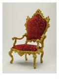 Armchair  1730-40 (Walnut)