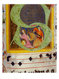 Historiated Initial &#39;S&#39; with the Decollation of Saint John the Baptist