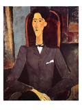 Jean Cocteau  1917 (Oil on Canvas)