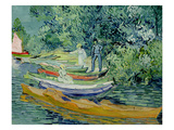 Bank of the Oise at Auvers  1890 (Oil on Canvas)