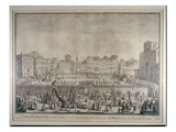 The Festa Del Calcio in Piazza Santa Croce  Engraved by Carlo Gregori (1719-59) 1738 (Engraving)