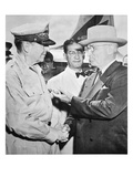 President Harry S Truman (1884-1972) Meeting General Douglas Macarthur (1880-1964)