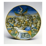 The Dream of Daniel  1545 (Ceramic)