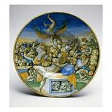 The Dream of Daniel  1545 (Ceramic)