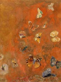 Evocation of Butterflies  C1912 (Oil on Canvas)
