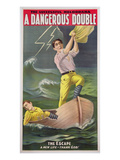 A Dangerous Double  C1899 (Colour Litho)
