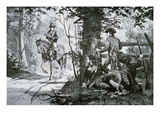 The Capture of Major John Andre (Litho)