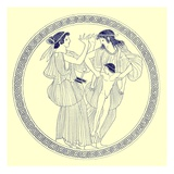 Prokne  Philomela and Itys  Illustration from 'Greek Vase Paintings'
