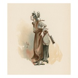 The Litle Marchioness  Illustration from 'Character Sketches from Charles Dickens'  C1890