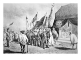 Commodore Perry in Japan in 1853 Meeting Imperial Commissioners at Yokohama