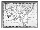 Colony of Georgia  America  1733 (Litho)