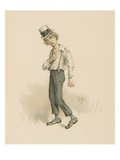 David Copperfield  Illustration from 'Character Sketches from Charles Dickens'  C1890