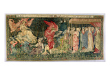 Passing of Venus  Designed in 1901 and Woven in 1926 (Wool  Silk and Linen Tapestry)