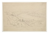 Mount Holyoke  Massachusetts (Graphite on Tracing Paper)