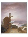 The Hudson River from Hoboken  1878 (Oil on Panel)