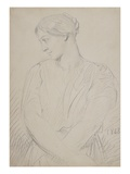 Alice Ozy  1848 (Graphite on Paper)