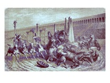 Roman Public Games under the Empire - the Chariot Race in the Circus