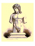 The Eros of the Vatican  Statue in the Vatican  Illustration from 'History of Rome' by Victor Duruy