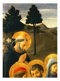Detail of St Dominic from the Crucifixion