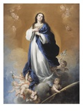 The Immaculate Conception (Oil on Canvas)