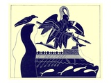 The Ghost of Patroklos  Illustration from &#39;Greek Vase Paintings&#39;