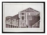 Design by Andrea Palladio  Engraved by Gaetano Testolini (Fl1760-1811)