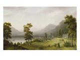 Carter's Tavern at the Head of Lake George  1817-18