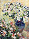 Azaleas  1885 (Oil on Canvas)