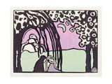 Moonrise  from 'Der Blaue Reiter'  1911