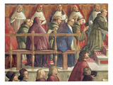 The Approval of the Order by Pope Honorius Iii  Scene from the Life of St Francis of Assisi